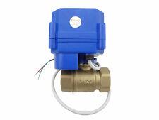 Motorkugelhahn Ventil motorized ball valve12V,DN20(reduce port)manual switch