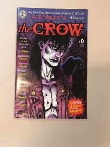 The-Crow-0-Kitchen-Sink-Comix-Comics-J-O-Barr-1998-First-Printing