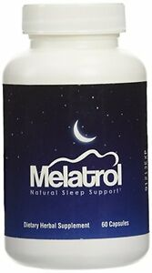Melatrol All Natural Sleep Aid Relieves Daily Stress And
