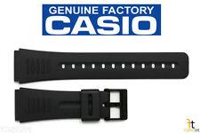 CASIO DBC-30 Original 22mm Black Rubber Watch BAND Strap CMD-40 DBC-63 DBM-150