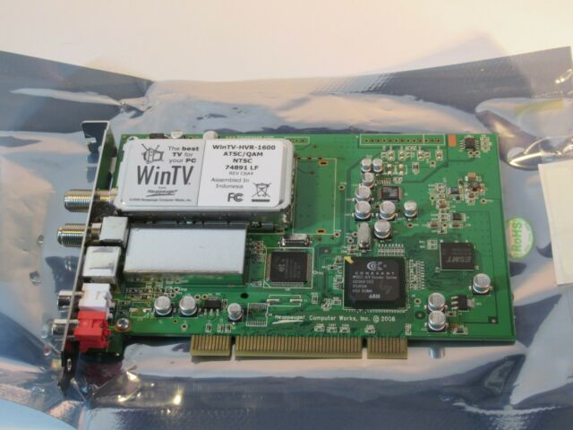 HAUPPAUGE WINTV HVR-1600 NTSCATSC WINDOWS VISTA DRIVER