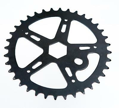 5 SPOKE 36T TEETH SPROCKET for ONE PIECE CRANK Bike//Bicycle SILVER hexagonal