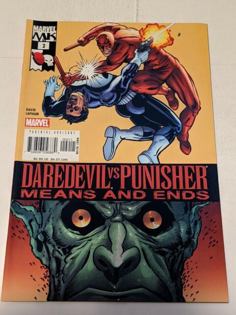 Daredevil Vs Punisher Means And Ends #2 September 2005 Marvel Comics