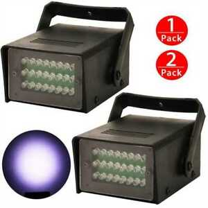 Details about 2xRGB Party Disco Lights Ball Sound Activated Strobe Led DJ  Bulb Dance Lamp 2019