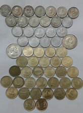 5 rs 53 different commemorative coin lot extreme rare