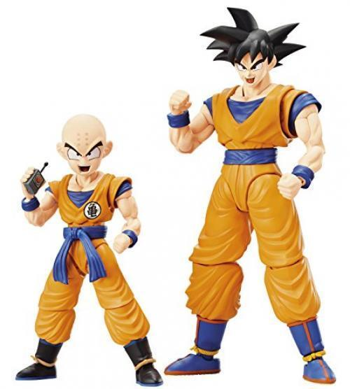 Dragon Ball Son Goku & Kuririn DX Set Farbe Coded Plastic Model Japan