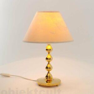 Tischlampe-Tischleuchte-4-Tropfen-Design-Asmussen-Denmark-24K-vergoldet-60s-70s