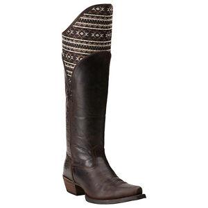 b9d408f1d20 Image is loading New-Womens-Ariat-10014119-Caldera-Barnwood-Mocha-leather-