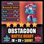 Pokemon-y-espada-escudo-brillante-6IV-obstagoon-batalla-listo-no-personalizado-no-idem miniatura 1