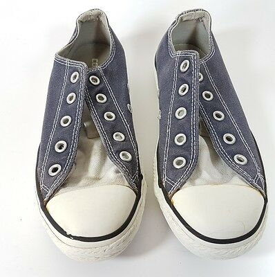 Converse childrens denim trainers uk 1 eu 33