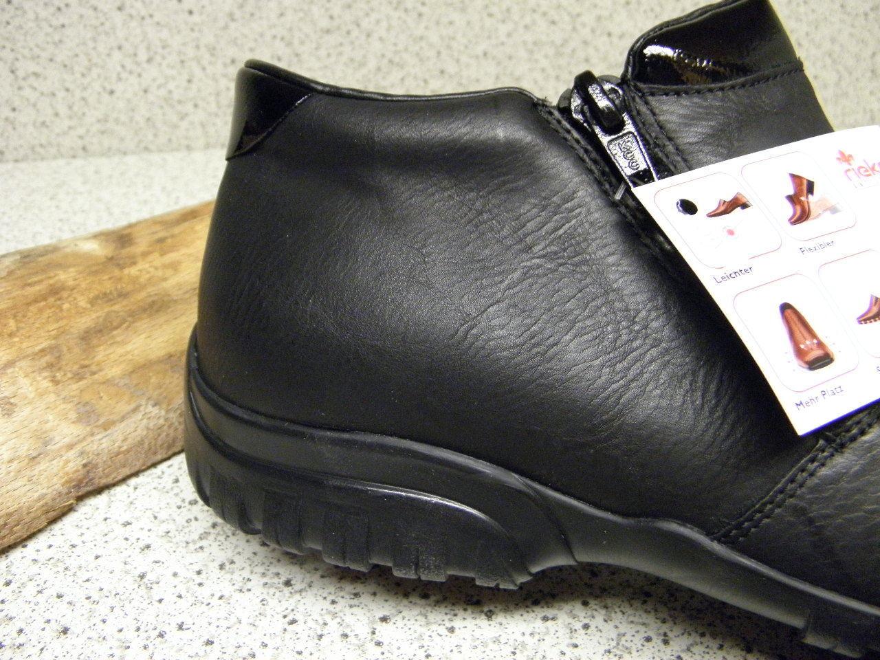 Rieker ® réduit, jusqu 'ici  Noir Super Super Super confortable l4673-01 (r295) bd0724