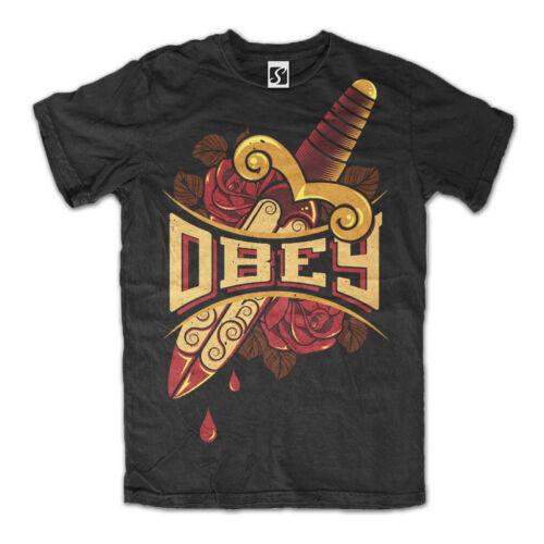 Obey Design Exclusive Men/'s T-Shirt SB421