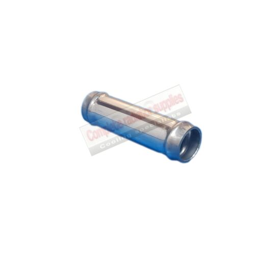 Joiner 19 mm OD x 60 mm Long Aluminium Radiator Hose Connector Pipe