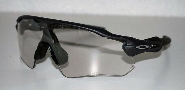 Oakley Radar EV Path Sunglasses OO9208-13 Steel/Clear Black Iridium Photochromic