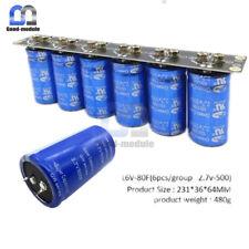 16v 83f 6pcs Lot Farad Capacitor Super Capacitor 27v 500f Protection Board