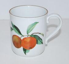 Royal Worcester EVESHAM Gold Ear Handled Coffee Tea Mug Mugs fine Porcelain