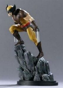 WOLVERINE-BROWN-STATUE-1ST-EDITION-2001-BY-BOWEN-DESIGNS-FACTORY-SEALED-NEW