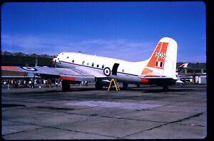248-01 ORIGINAL K64 AIRCRAFT SLIDE: RAF Handley Page Hastings T5 TG505