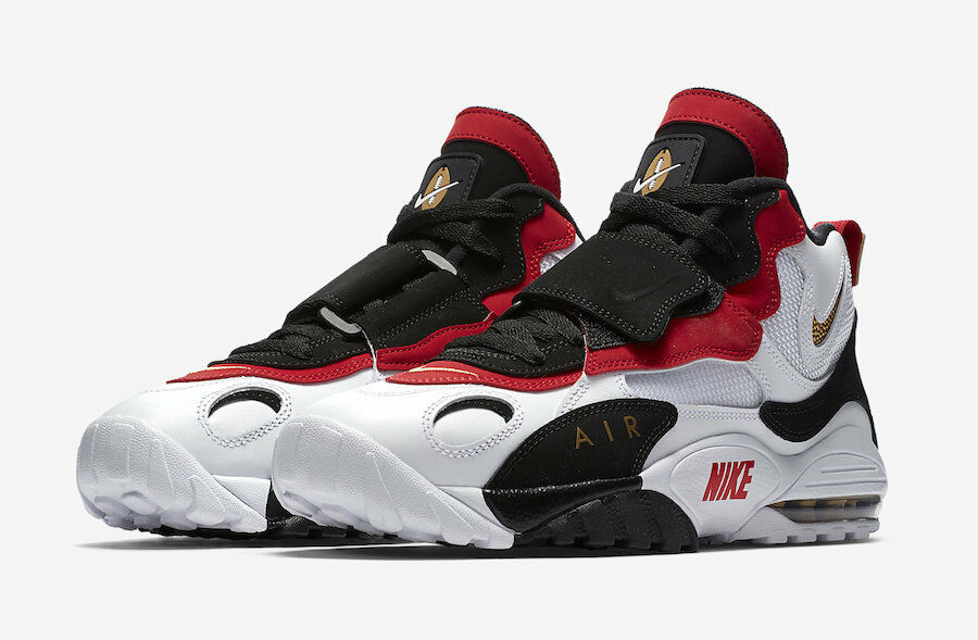 2018 Nike Air Max Speed Turf size 14. 49ers. Red gold. Deion Sanders. 525225-101