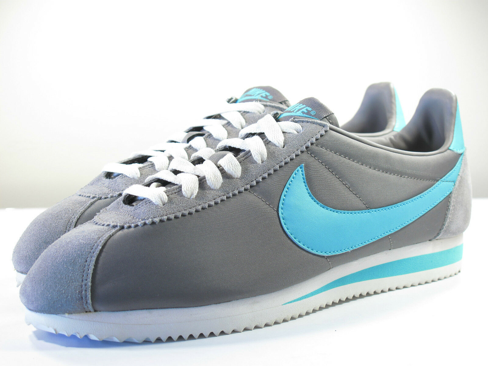 DS NIKE UNRELEASED SAMPLE 2011 CORTEZ GREY 9 VINTAGE TERMINATOR VANDAL WOVEN