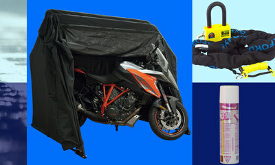 Up to 50% off Motorcycle Weather Protection