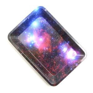 1Xrolling-tray-metal-cigarette-18cm-12-5cm-essential-smoking-holder-trays-Fad-US