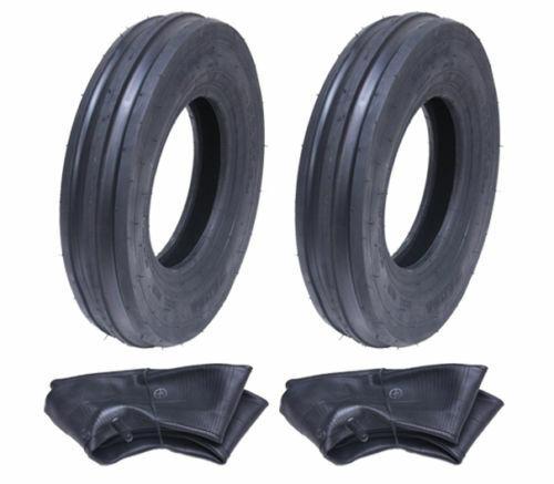3.50-8 Haybob Rastrillo Turner, 350x8 Neumático y Tubo Wanda H8023 Set de 2