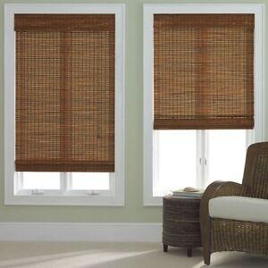 Bamboo-Roman-Shade-Five-Colors-Free-Shipping