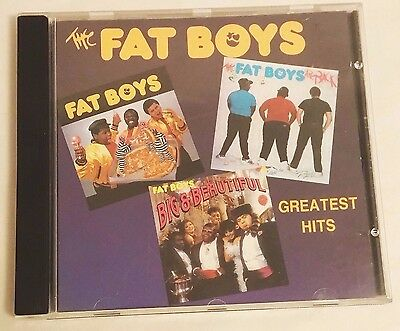 FAT BOYS Greatest Hits 1987/1991 Canadian Version - 12 Tracks - ULTRA RARE