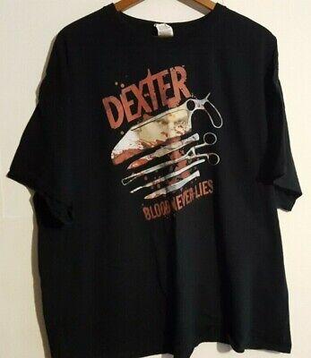 Dexter BLOOD NEVER LIES Showtime Series Licensed Adult Sweatshirt Hoodie