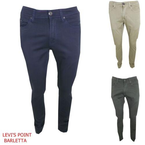 pantaloni slim Fit uomo in Cotone Linea Jeans elasticizzato casual estivi SV52