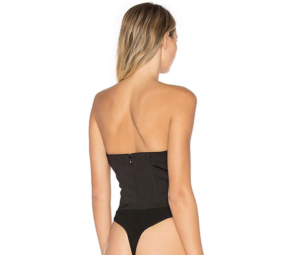 NBD lace up bodysuit corset top Xs - image 3
