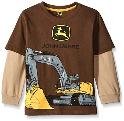 NWT John Deere Boys/' Little Excavator Tee