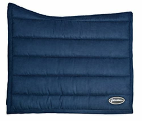 WHITAKER SADDLE PAD BERLIN SOFT-TOUCH TRAINING FULL - NAVY - WHT0510