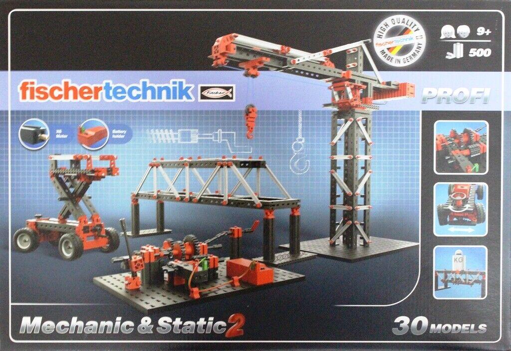 Fischertechnik 536622 Mechanik & Static 2