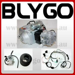 125cc-Fully-Auto-Engine-Motor-Wiring-kit-Carby-PIT-QUAD-DIRT-BIKE-ATV-BUGGY