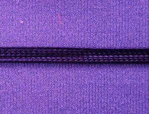 "Uniform Braid Trim Textured Flat Braid Trim Ribbon 1//2/"" Black 10 yds #BG239"