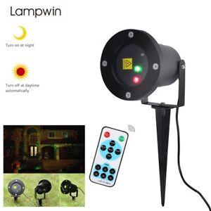 Led light sensor laser projecteur lumi re eclairage ext rieur f te xmas d cor fr ebay for Laser lumiere exterieur