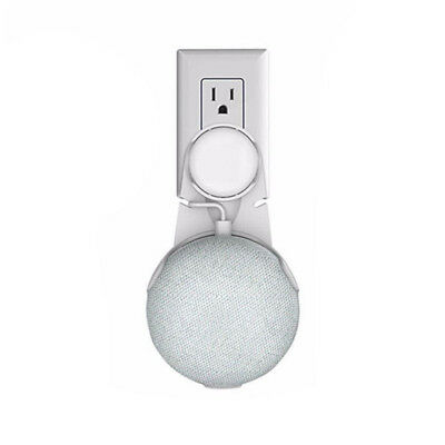 Bedroom Outlet Wall Mount 1PCS Fit For Google Home Mini Voice Assistant