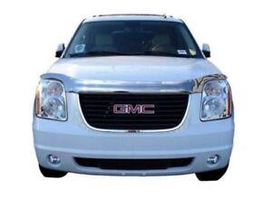 AVS-680837-Chrome-Hood-Shield-Bug-Deflector-for-2007-2014-GMC-Yukon-XL