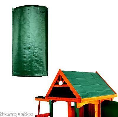 GREEN Swingset Shade Playground CANOPY Swing-N-Slide ...
