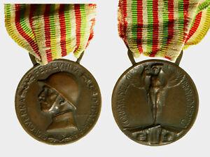 s824-2-WW1-MEDAGLIA-1915-CONIATA-NEL-BRONZO-NEMICO-REGIO-ESERCITO