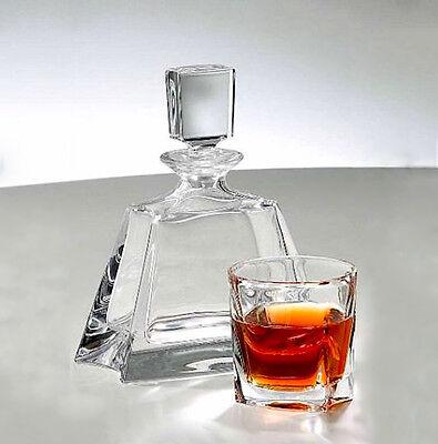 6 Gläser Karaffe Bleikristall 24/% PbO Serie Kathrene Whisky Set Neu/&OVP