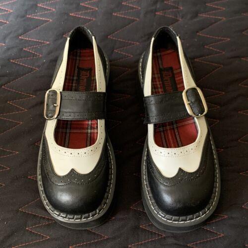 Demonia Emily Mary Jane Platform Shoes Size 9