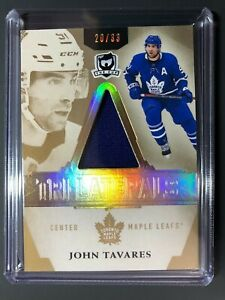 2018-19-The-Cup-John-Tavares-Toronto-Maple-Leafs-Tri-Laterals-Patch-33