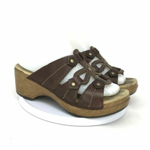 DANSKO Womens Serena 9818237000 Brown Sandal Size