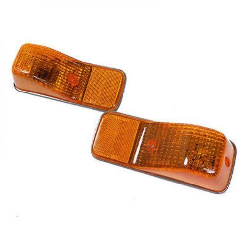 Fit 94-99 Nissan UD CWM 430 PKC 215 PK 245 PK 265 Truck Side Indicator Lamp Pair