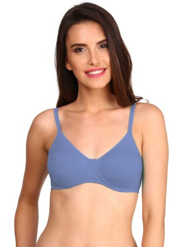 NEW JOCKEY NON WIRE CONTOURING COTTON BRA WITH SOFT CUPS PROVIDES NATURAL SHAPE