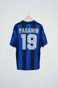 1995-96-PAGANIN-match-worn-shirt-Inter-retro-jersey-Umbro-Milan-Juventus-Roma