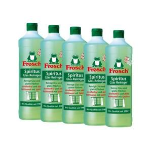 5x-Frosch-Spiritus-Glas-Reiniger-1-Liter